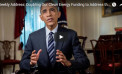 Presidential Weekly Address: Doubling Our Clean Energy Funding to Address the Challenge of Climate Change
