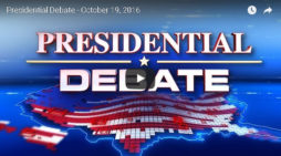 Watch The Last Presidential Debate Tonight Live Right Here!