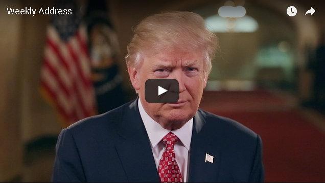 President Donald Trump's Third Weekly Address