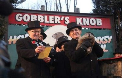 Punxsutawney Phil Predicts Six More Weeks of Wintry Weather