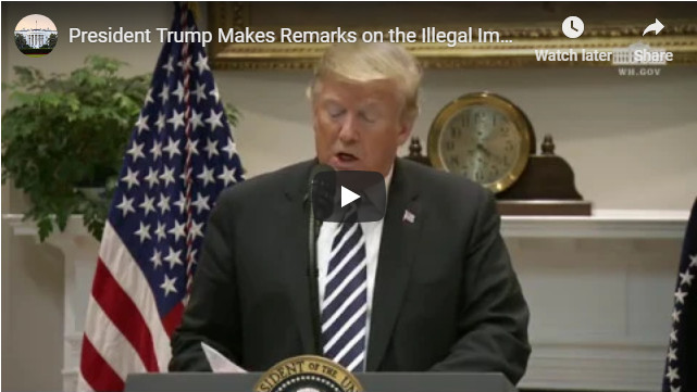 "President Trump Says…""Our Nation's Weak Asylum Laws are Encouraging an Overwhelming Increase In Illegal Immigration"""