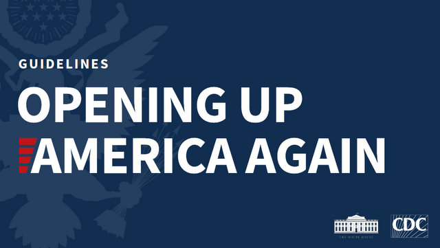 President Donald J. Trump Announces Guidelines for Opening Up America Again
