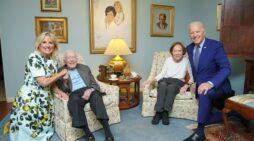 The Bidens Visited the Carters Last Week in Georgia